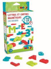 SMOBY - Magnetické písmená a čísla 72ks