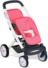 SMOBY - Športový kočík pre bábiky dvojčatá Maxi Cosi
