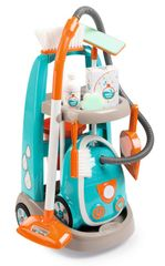 SMOBY - Vozík pre malú upratovačku s vysávačom