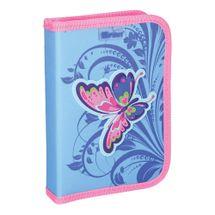 SPIRIT - Peračník 1-poschodový/2 klopy plný, 3D Butterfly Pink