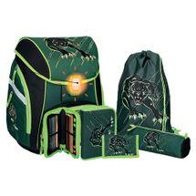 SPIRIT - Školská taška - 5-dielny set, PRO LIGHT Panther, LED