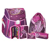 SPIRIT - Školská taška - 5-dielny set, START Butterfly