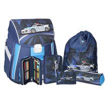 SPIRIT - Školská taška - 5-dielny set, START Police