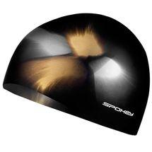SPOKEY - ABSTRACT-Plavecká čiapka silikónová