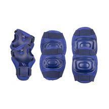 SPOKEY - AEGIS - 3-dielna sada detských chráničov, tmavo modré, vel. M