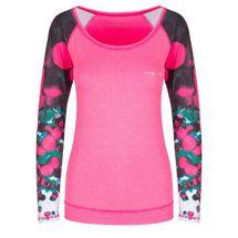 SPOKEY - BALLS, fitness triko. dlhý rukáv, ružové, vel. L