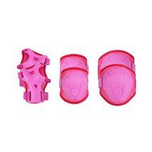 SPOKEY - BUFFER - 3-dielna sada detských chráničov, ružové, vel. S