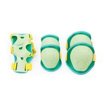 SPOKEY - BUFFER - 3-dielna sada detských chráničov, zelená, vel. XS