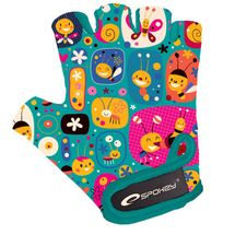 SPOKEY - BUMBLEBEE Detské cyklistické rukavice XS