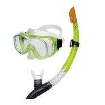 SPOKEY - CEFEUSZ - Sada okuliare + šnorchel zelená