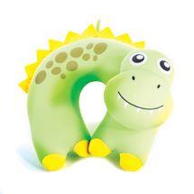SPOKEY - Cestovný vankúšik detský, mikroguličky dinosaurus