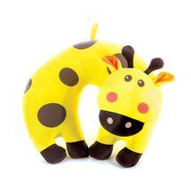 SPOKEY - Cestovný vankúšik detský, mikroguličky žirafa