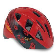 SPOKEY - CHERUB Detská cyklistická prilba IN-MOULD, 44-48 cm, červená
