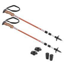 SPOKEY - CREEK Trekingové palice, 3-dielne, korkové madlo, systém anti-shock