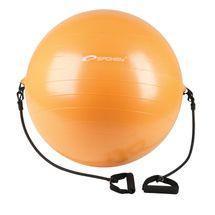 SPOKEY - ENERGETIC - Fitness lopta s expanderom 65 cm vrátane pumpičky
