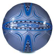 SPOKEY - FERRUM Futbalová lopta vel..5  strieborno-modrá