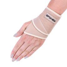 SPOKEY - FITBIT B Bandáž zápästia neoprén, univerz.veľkosť béžová