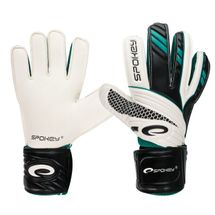 SPOKEY - FORCE brankárske rukavice bielo-čierne  roz.8