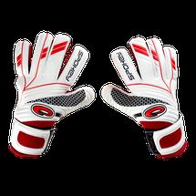 SPOKEY - FORCE Brankárske rukavice bielo červené roz.6