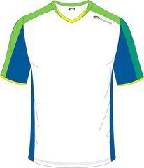 SPOKEY - Fotbalové tričko bielo-zelené veľkosť  M