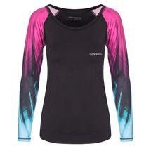 SPOKEY - HAY, fitness tričko, dlhý rukáv, čierne, velkosť L