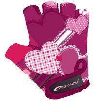 SPOKEY - HEART GLOVE Detské cyklistické rukavice XS