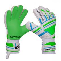 SPOKEY - INTENSE Brankárske rukavice zelené vel.4