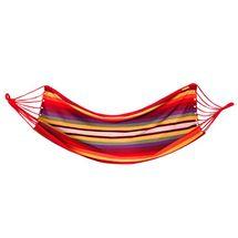 SPOKEY - IPANEMA Hojdacia sieť 100 x 200cm, červená - žltá