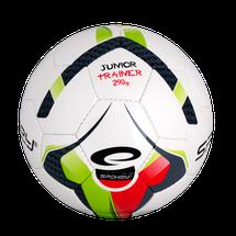 SPOKEY - JUNIOR TRAINER Futbalová lopta zeleno-červená veľkosť 4