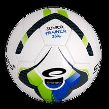 SPOKEY - JUNIOR TRAINER Futbalová lopta zeleno-modrá veľkosť 5