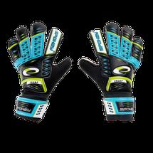 SPOKEY - KEEPER JR Brankárske rukavice modré roz.4