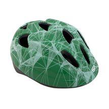 SPOKEY - KINDLEY Detská cyklistická prilba zelená, 48-52 cm