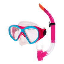 SPOKEY - KRAKEN II Sada okuliare + šnorchel ružová