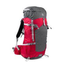 SPOKEY - LUKLA Batoh trekingový 50 l, čierno-sivo-červený