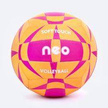 SPOKEY - NEO SOFT neoprenová volejbalová lopta žlto - ružová roz. 5