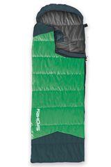 SPOKEY - OUTLAST II Spací vak múmia/deka zelený ľavé zapínanie