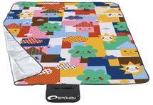 SPOKEY - PICNIC TODDLER Pikniková deka orig. vzor 130 x 170 cm