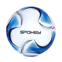 SPOKEY - RAZOR Futbalová lopta vel..5  bielo-čierno-modrá