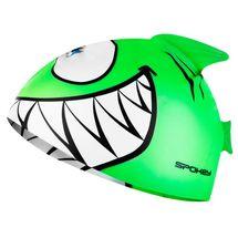 SPOKEY - REKINEK-Plavecká čiapka ŽRALOK zelená