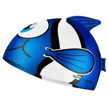 SPOKEY - RYBKA-Plavecká čiapka RYBA modrá