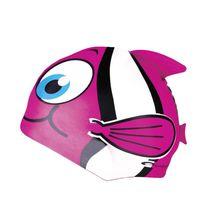 SPOKEY - RYBKA-Plavecká čiapka RYBA ružová
