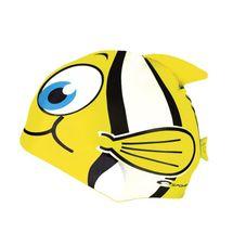 SPOKEY - RYBKA-Plavecká čiapka RYBA žltá