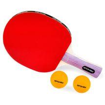 SPOKEY - SMASH SET - raketa v púzdre, 2 loptičky na pingpong