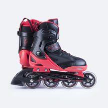 SPOKEY - SPOOX Kolieskové korčule čierna-červené  ABEC7 Carbon veľkosť 36-39