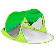SPOKEY - STRATUS Samorozkládací plážový paravan, UV 40, 195x100x85cm - zelený
