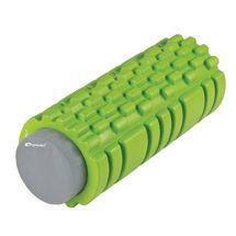SPOKEY - TEEL 2 v 1 fitness penový valec zelený