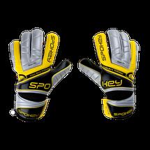 SPOKEY - TOUCH Brankárske rukavice žlté roz.8
