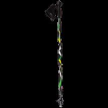 SPOKEY - ZIGZAG palice Nordic Walking čierno - farebné