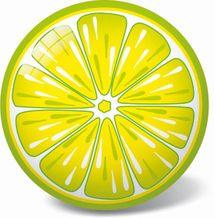 STAR TOYS - Lopta citrón 23cm