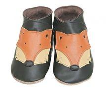 STARCHILD - Kožené topánočky - Foxy Choc - veľkosť M (6-12 mesiacov)